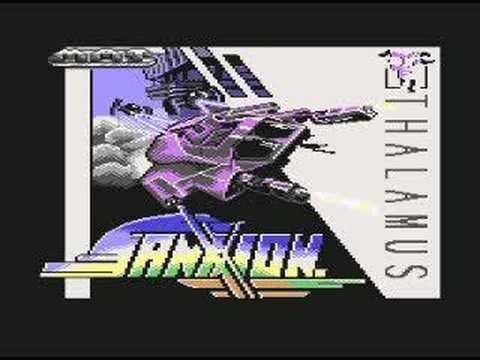 Sanxion Commodore 64 Loader Tune