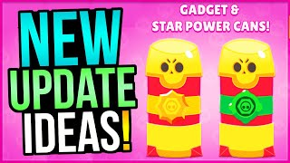 14 AMAZING Update Ideas That SHOULD Be Added To Brawl Stars!