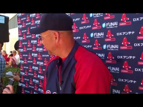 Feb 23 2011 Terry Francona Red Sox Roles MLB.flv