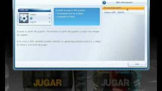 Crear cuentas Games For Windows-Live