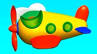 Build and Play 3D vs. Zoo Train! Kids Machine Puzzles: AIRPLANE Demo (Дети построить и узнать)