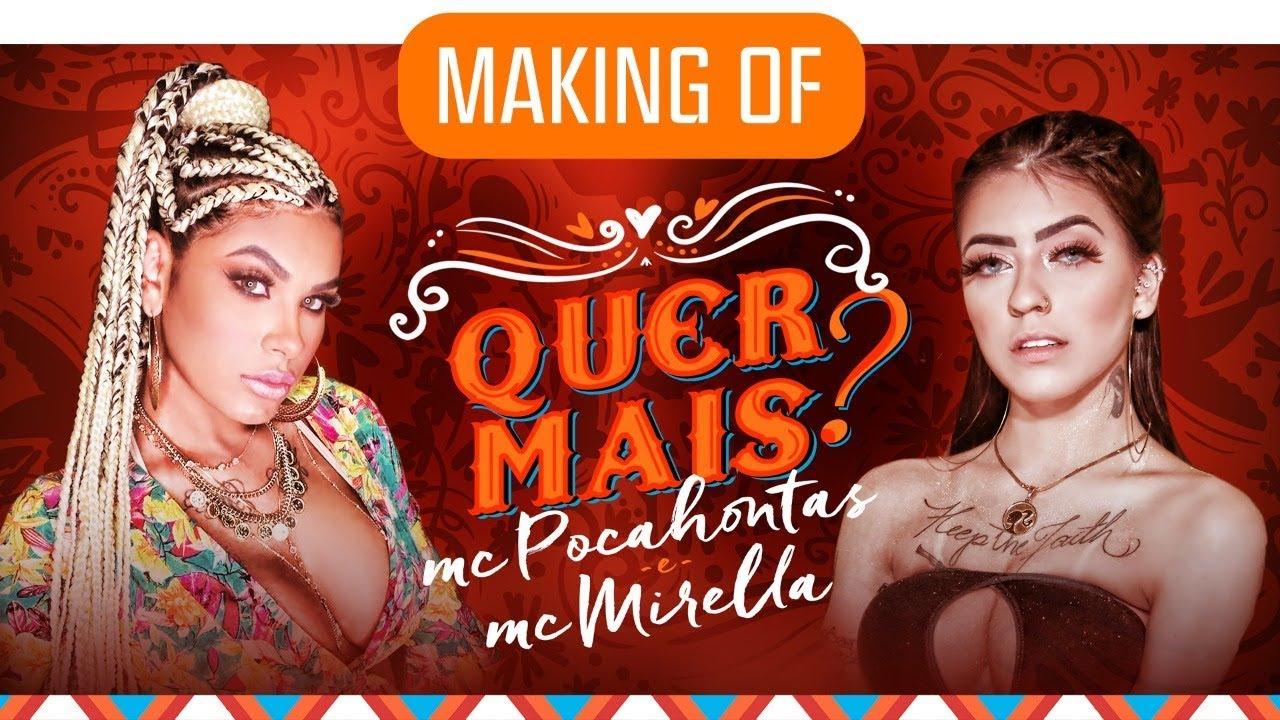 Making Of Pocah E Mc Mirella Quer Mais Oficial Youtube