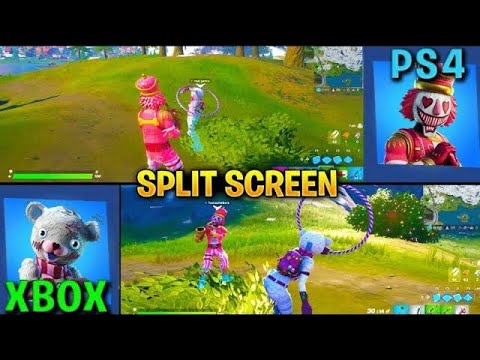 How to play split screen on Fortnite (PS4/Xbox) - YouTube