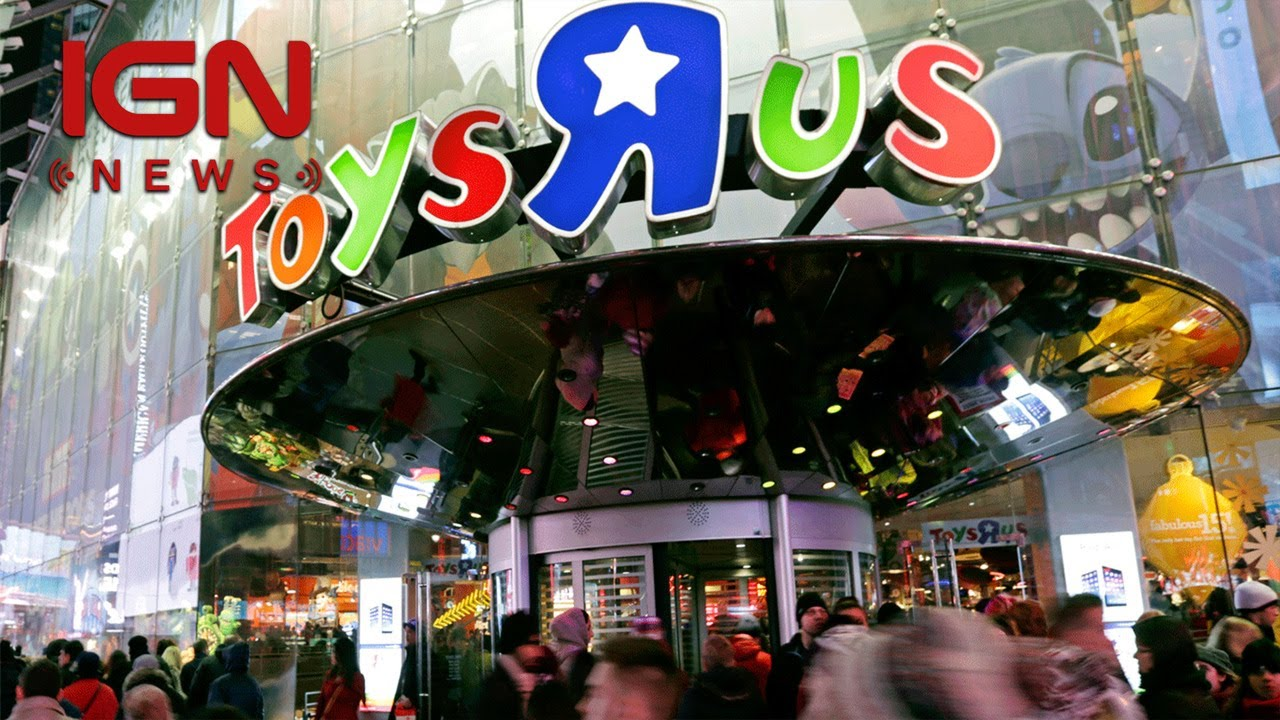 Toys R Us Files For Bankruptcy Keeps Stores Open Ign