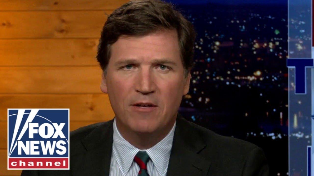 Tucker exposes authoritarianism here in America