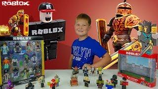 Nouveaux jouets Roblox (fr) Unboxing - Revue de Jouets Figure Roblox