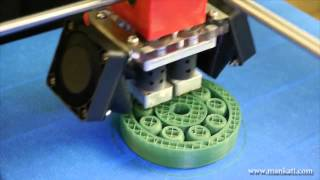 Smoothly Running Bearing, By Mankati Fullscale XT  3D Printer - Maker Stuff