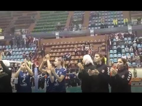 الأهلى يهزم نظيره  البوركينى فى البطولة الأفريقية للطائرة سيدات  - 22:53-2019 / 3 / 18