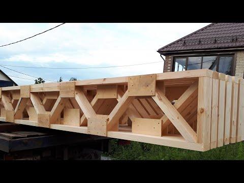 Межэтажные деревянные фермы перекрытия своими руками