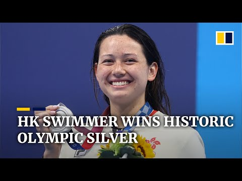 Hong Kong celebrates another historic Olympic win as swimmer Siobhan Haughey takes silver