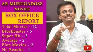 #ARMurugadoss Movies Box Office Records - #Vijay | #Ajith | #Dheena | #Sarkar