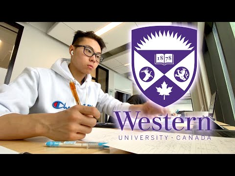 Day in the Life of an Engineering Student | Western University (First Year)
