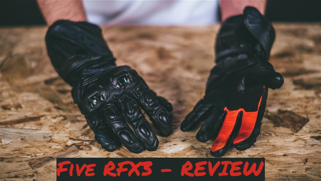 Rukavice FIVE RFX3 - REVIEW