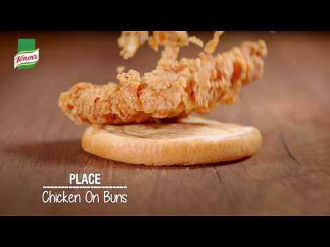 Knorr Crispy Chicken Burger