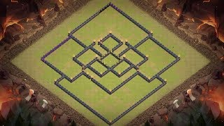[Clash of Clans] Best TH11 war base || 2017 Base Layout || Bomb Tower, 300 walls