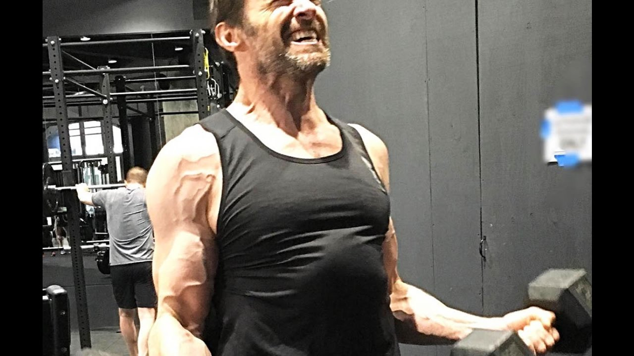 "HUGH JACKMAN WORKOUT FOR ""LOGAN WOLVERINE"" {2017} - YouTube"