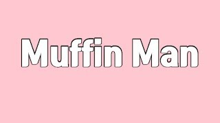 Muffin man | Karaoke Version | Nursery Rhymes | Lyric Video | By BeanySound