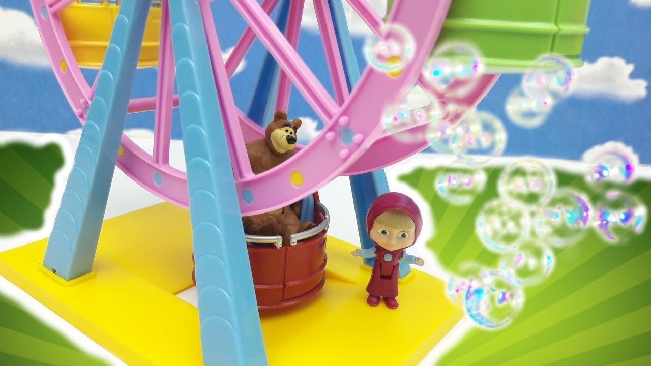 Masha e orso al luna park storie per bimbi una bella giornata