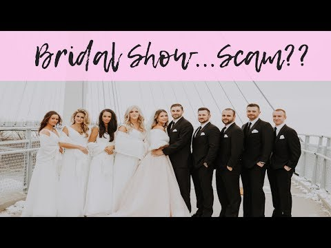 THE TRUTH ABOUT BRIDAL SHOWS | WEDDING SERIES. http://bit.ly/2JHxj9e