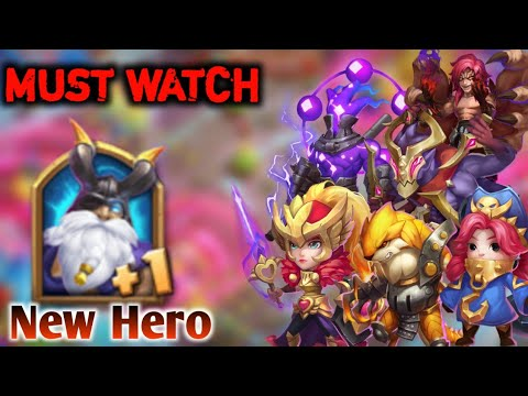 Hero Trial   MUST WATCH   Level-10 New Heroes   Very Hard😲😲   Unexpected Commodora    Castle Clash