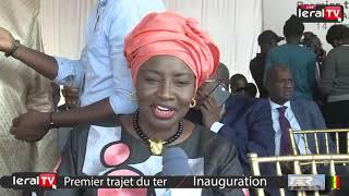 """Aminata Touré : """"On perdait 100 milliards dans les embouteillages et le TER va changer cela"""""""