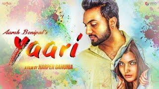 Aarsh Benipal Yaari (Official Music ) | Jassi Lohka | New Punjabi Songs 2018 | Saga Music