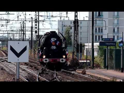 Un train à vapeur pour Versailles