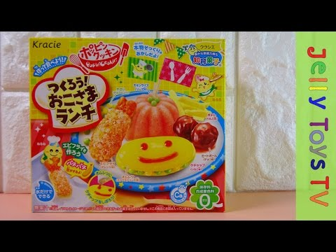 Japanese DIY candy kit Popin Cookin Kracie Okosama lunch