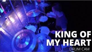 Drum Cam - KING OF MY HEART - John & Sarah McMillan (Bethel)