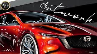 Sports Car MAZDA 2019 Digital Painting