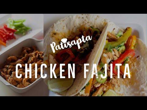 Easy Chicken Fajita Recipe – How to Make Chicken Fajita