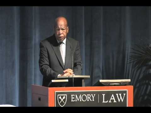 The Honorable John Lewis at Emory School of Law