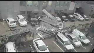 Ураган в Москве  Метро Щелковская