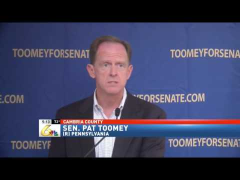 Toomey Details Opposition to Corporate Welfare, McGinty