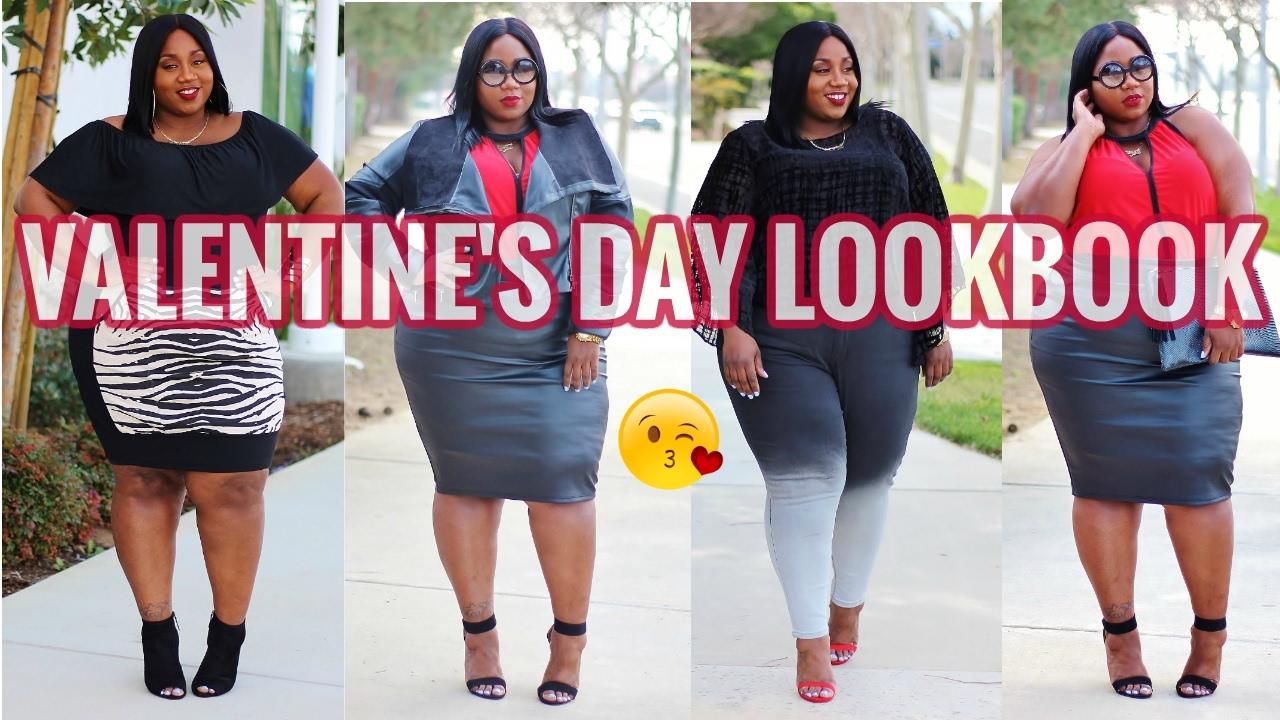 Plus Size Valentine S Day Lookbook 2017 Ft Gwynnie Bee Youtube