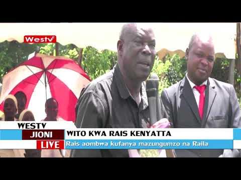 Wito wa naibu gavana Charles Ngome kwa rais Uhuru Kenyatta