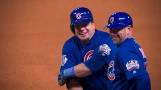 10/26/16: Schwarber, Arrieta lead Cubs to Game 2 win by : MLB
