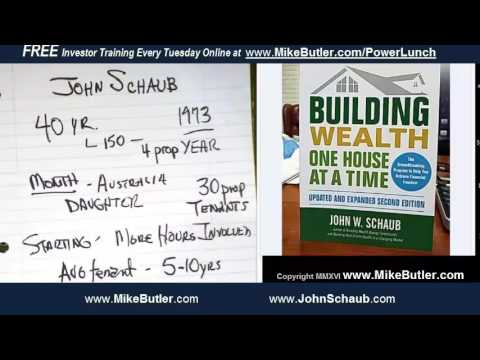 John Schaub New Book Building Wealth One House At A Time 45m