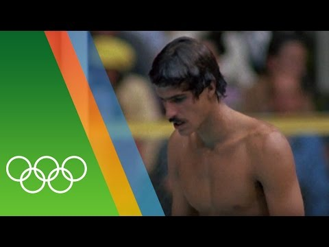 Mark Spitz's 7 golds at Munich 1972 | Epic Olympic Moments