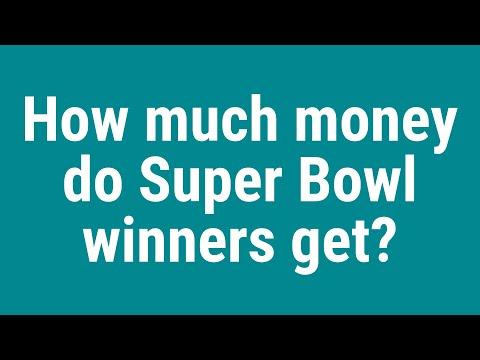 How Much Money Do Super Bowl Winners Get?