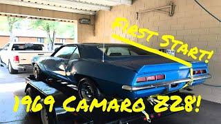1969 Camaro Z28 First Start In Years - Vice Grip Garage EP2