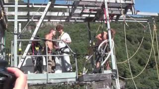 Swiss bungee jump Lui