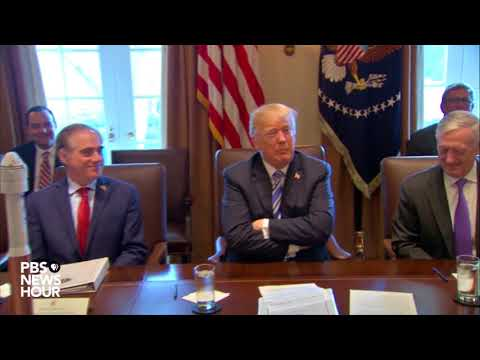 WATCH: President Trump holds cabinet meeting