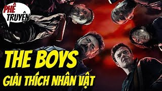 THE BOYS | GIẢI THÍCH NHÂN VẬT