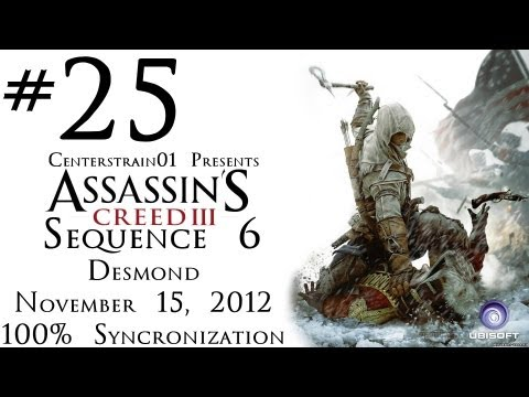 Assassin's Creed III - 100% Sync Walkthrough - Sequence 6 Interlude - Desmond - November 15, 2012