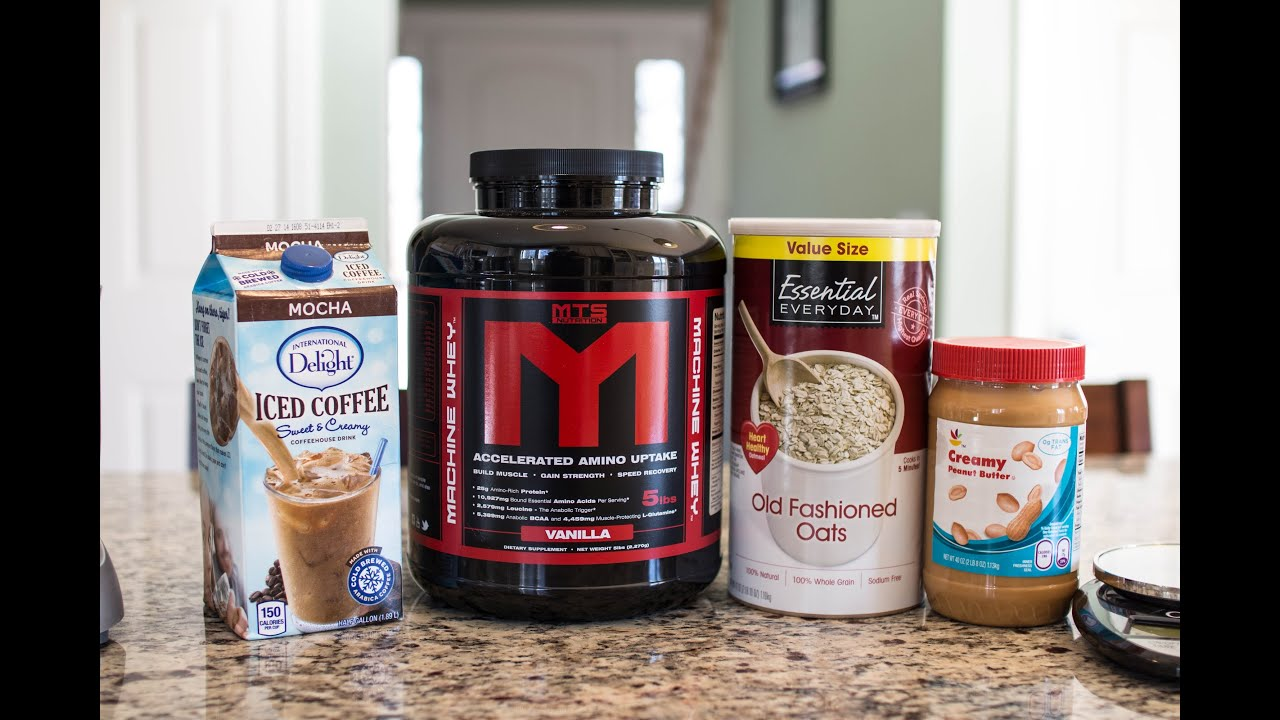 Protein meal replacement shake