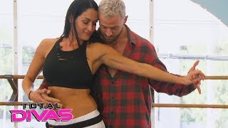 """Brie Bella visits Nikki's """"Dancing with the Stars"""" rehearsal: Total Divas Preview Clip: Jan.31, 2018"""