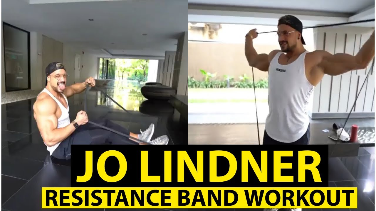 Resistance Band Workout By Jo Lindner Youtube