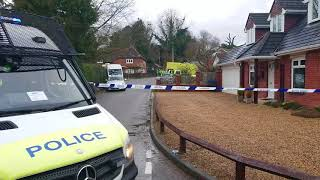 Police and Military Swarm Wiltshire Village as Part of Russian Spy Poisoning Investigation