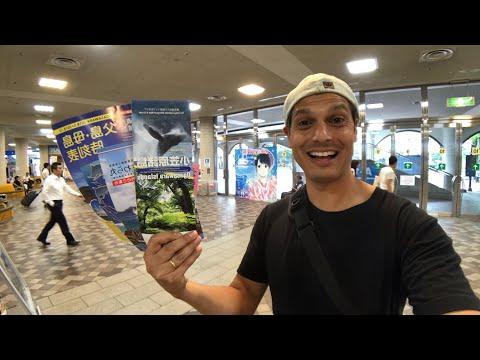 Japan - off to far away tropical islands!